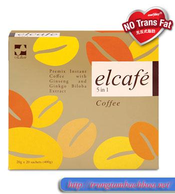 Cà phê 5 in 1 elcafe của elken