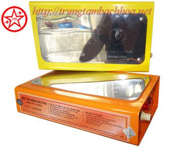 Máy tĩnh điện ion màu cam và vàng