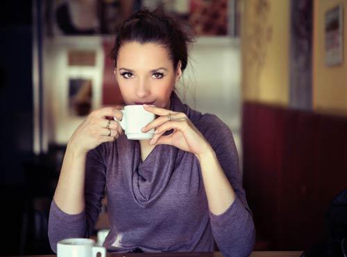 Thưởng thức cà phê giảm cân