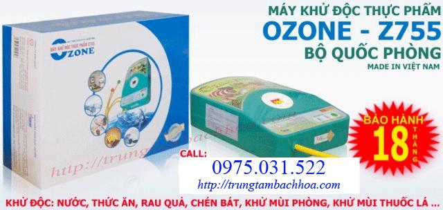 Máy ozone khử độc thực phẩm loại 1 vòi
