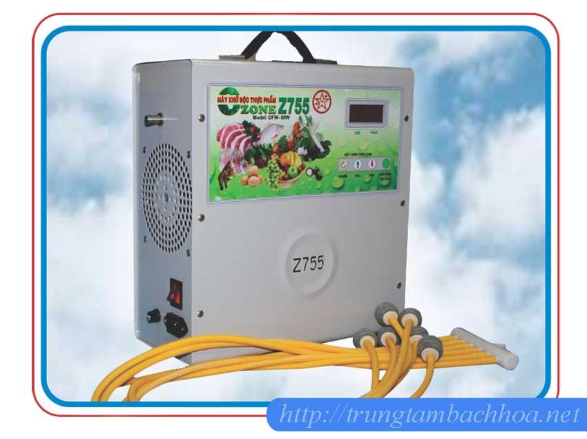 Máy Ozone công nghiệp z755 Bộ Quốc Phòng