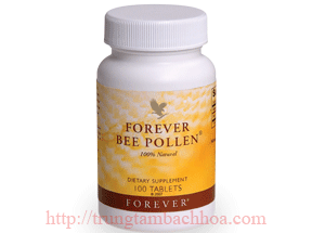 Phấn hoa ông chúa Forever Bee Pollen của công ty flp (Lô Hội)