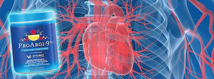Với Pro Argi 9 giúp bạn một trái tim khỏe