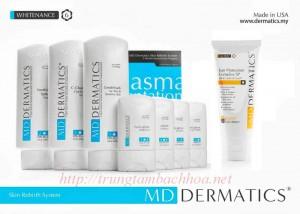 Bộ mỹ phẩm đặc trị nám MD Dermatics