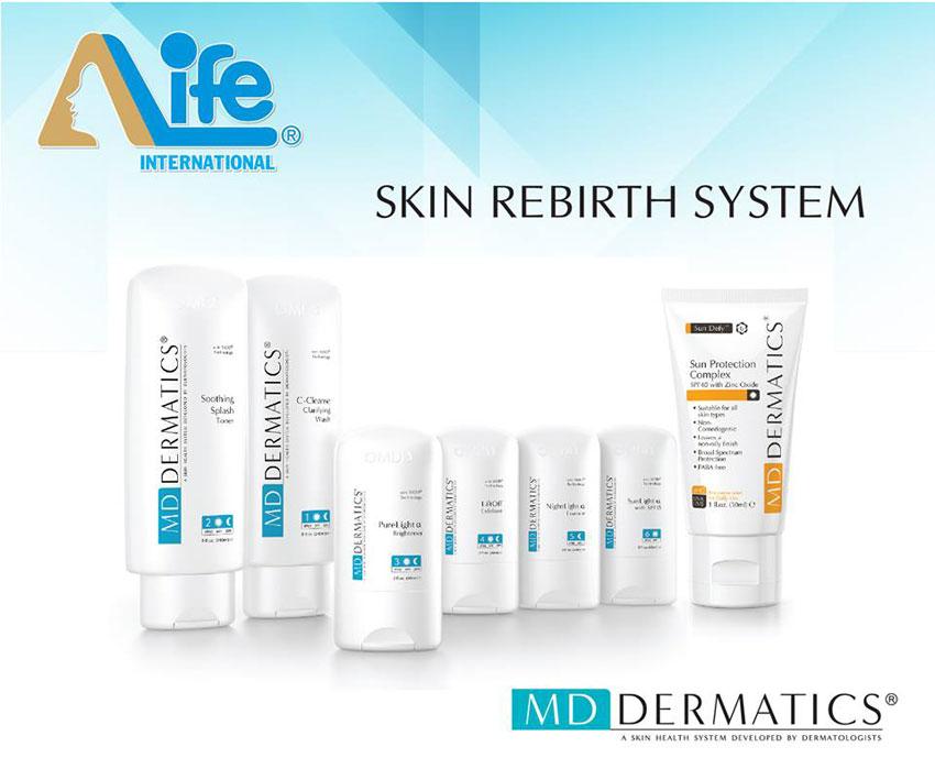 Hệ thống tái tạo da md dermatics của mỹ