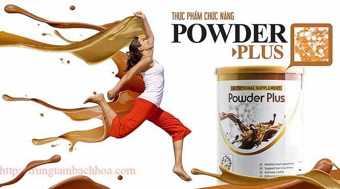 Powder Plus hương vị sô cô la