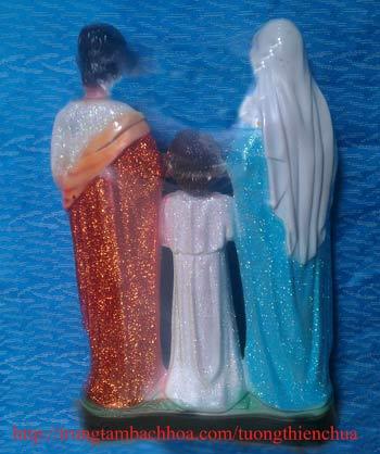 Tượng thiên chúa 3 người
