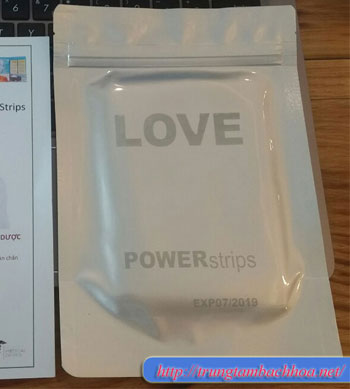Hộp miếng dán năng lượng powerstrips loại 15 miếng