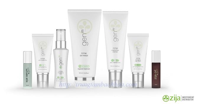 Những sản phẩm mỹ phẩm của zija GenM