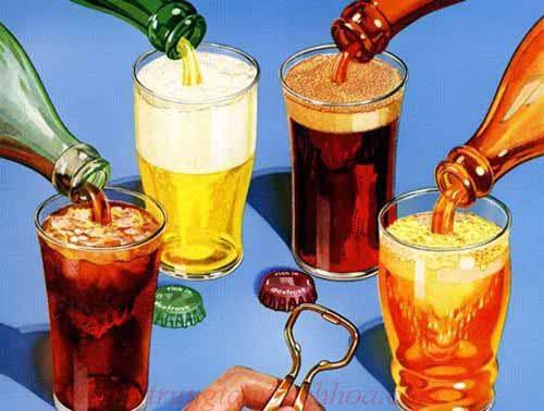 Bia và đồ uống có ga