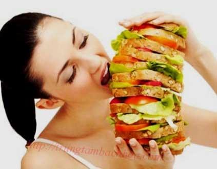 ăn uống quá nhiều