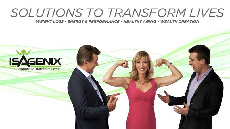 Cơ thể khỏe mạnh với isagenix
