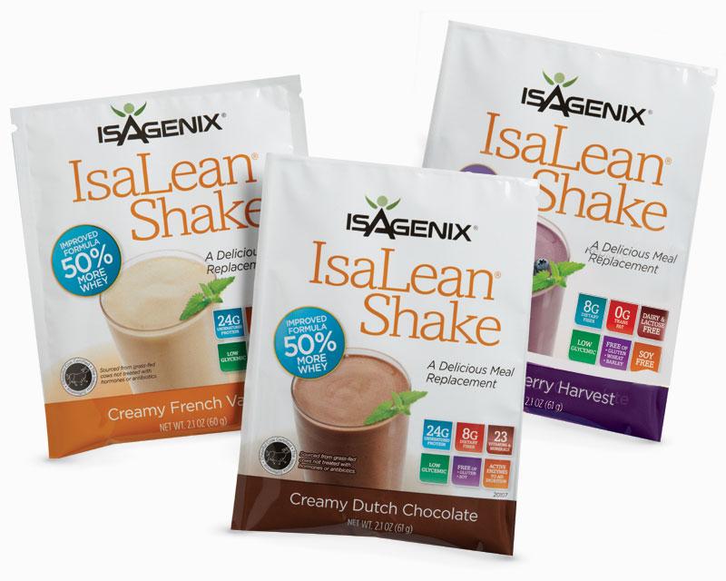 sản phẩm IsaLean Shake của Isagenix