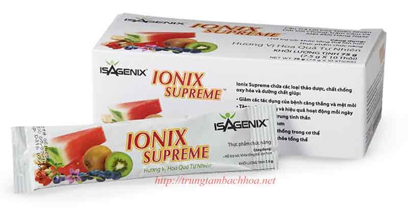 Ionix Supreme của Isagenix