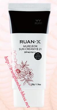 Kem chông nắng RUAN-X Sun Cream SPF 40 PA++