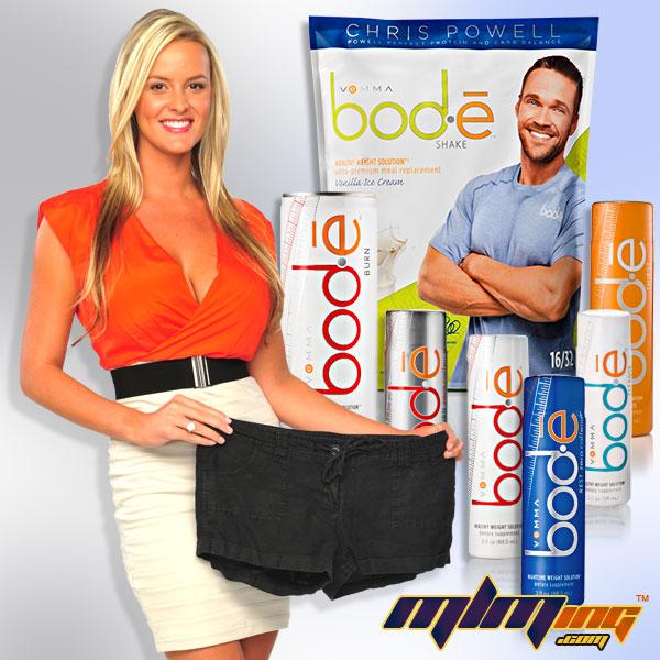 bộ sản phẩm giảm cân Bod-e shake của Vemma