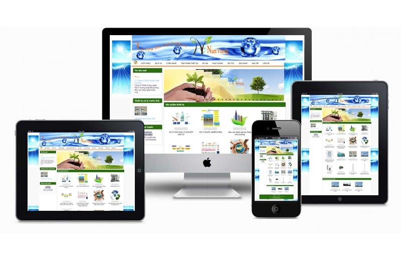 web hiển thị ở nhiều thiết bị