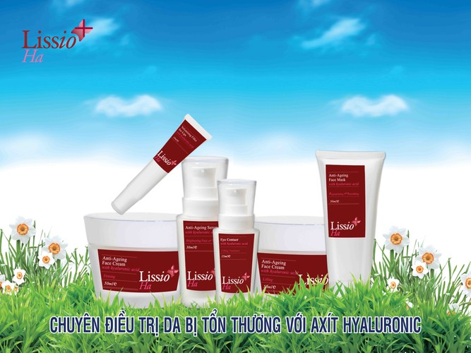 Bộ 6 sản phẩm chăm sóc da của Lissio HA