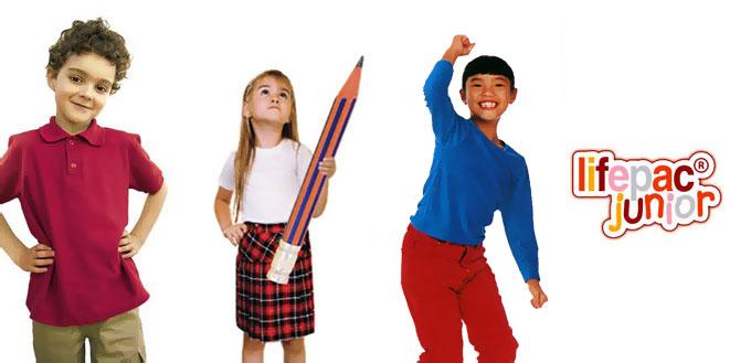 Sản phẩm Lifepac Junior giành cho trẻ em