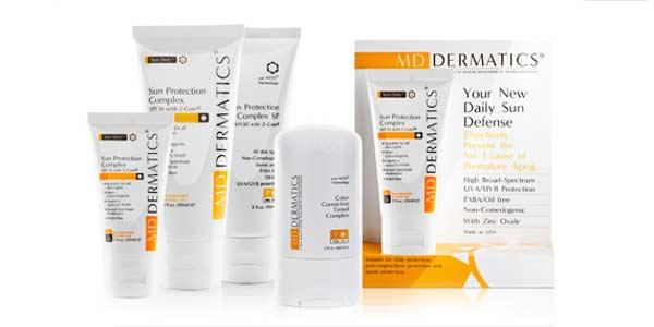 Các sản phẩm chống nắng của MD Dermatics