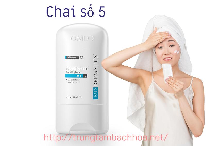 Chai số 5 đặc trị nám ban đêm md dermatics
