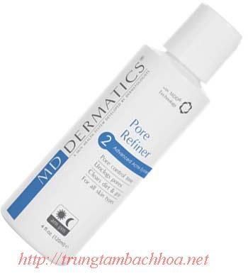 Nước hoa hồng điều trị mụn của md dermatics
