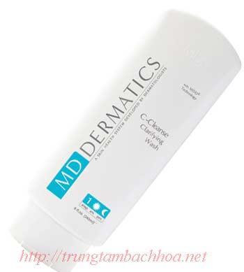 Sữa rửa mặt danh cho mọi loại da của md dermatics