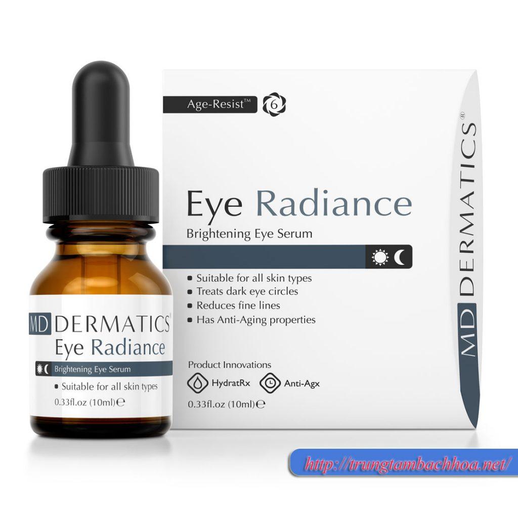Md dermatics eye raidance trị thâm quầng mắt