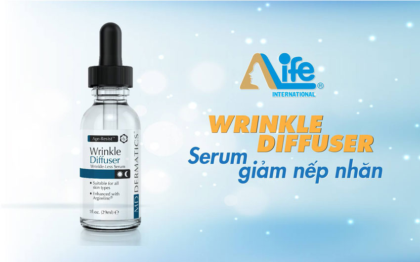 Serum wrinkle diffuser giảm nếp nhăn