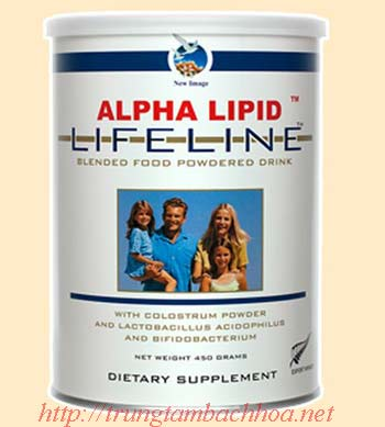 Sữa non alpha lipid lifeline của New Zealand
