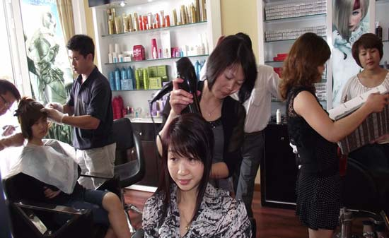 Tiệm cắt tóc