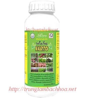 phân hữu cơ vi sinh farto - công ty rồng vàng đất việt