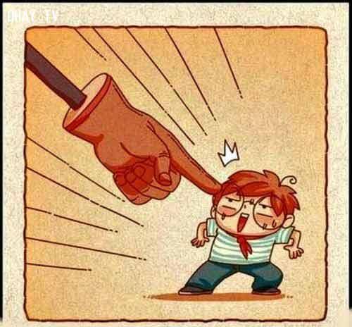 Xem lại mình khi chỉ trích người khác