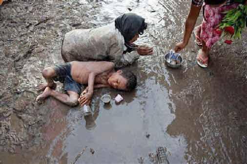 Người nghèo khó trong xã hội