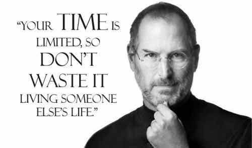 Thời gian bạn sống trên cuộc đời có giới hạn