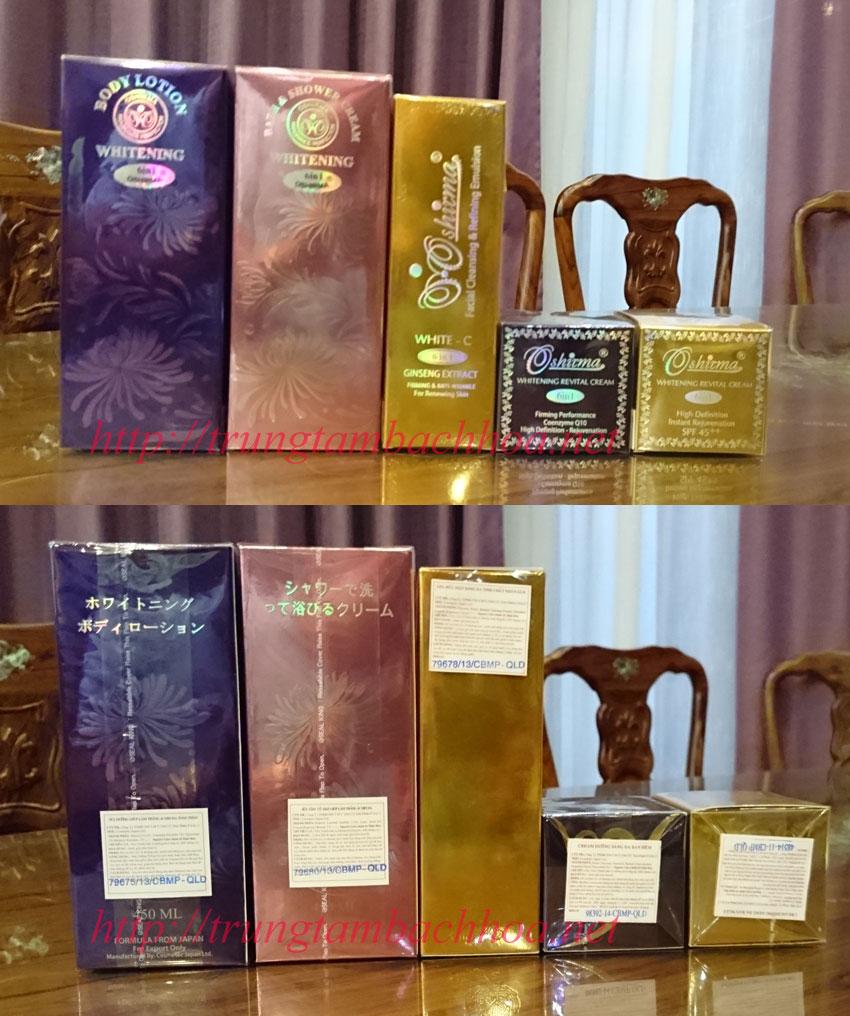 5 sản phẩm Oshirma Cosmetics 6 in 1 độc quyền tại việt nam