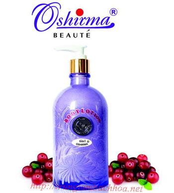 Sữa dưỡng thể toàn thân Oshirma 6 in 1