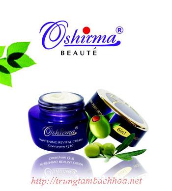 Kem dưỡng sáng da ban đêm 6 in 1 Oshirma nhật bản
