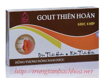 Gout thiên hoàn điều trị bệnh khớp và gout