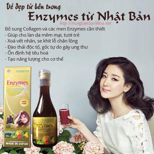 Enzymes thức uống collagen đến từ nhật bản