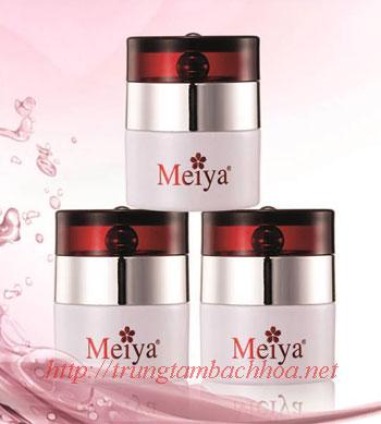 Kem dưỡng trắng da ban đêm của Meiya màu trắng