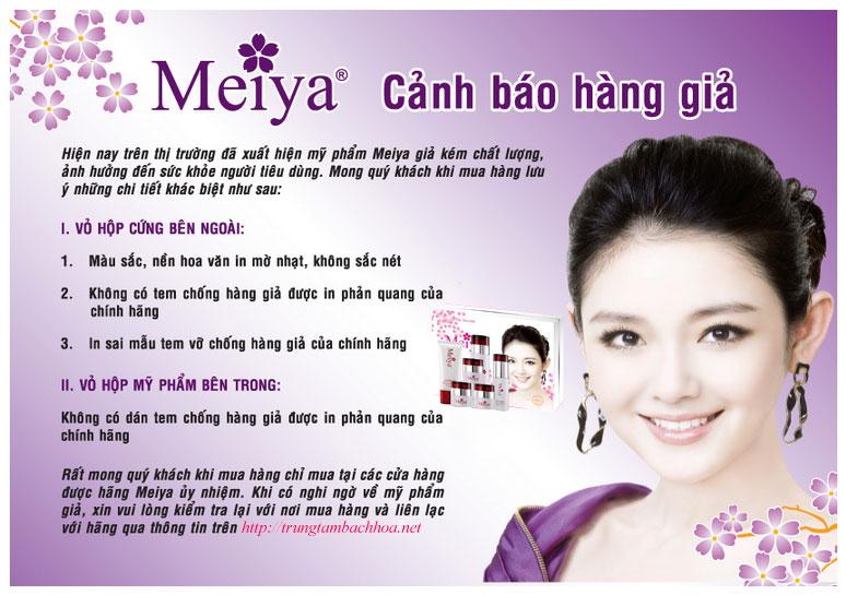 Meiya cảnh báo hàng kém chất lượng