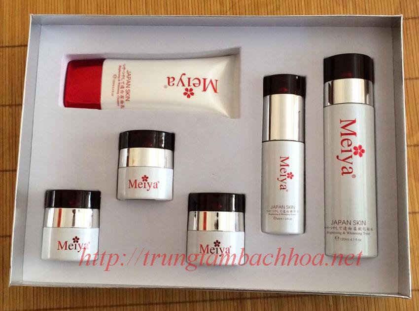 Những sản phẩm bên trong bộ Meiya