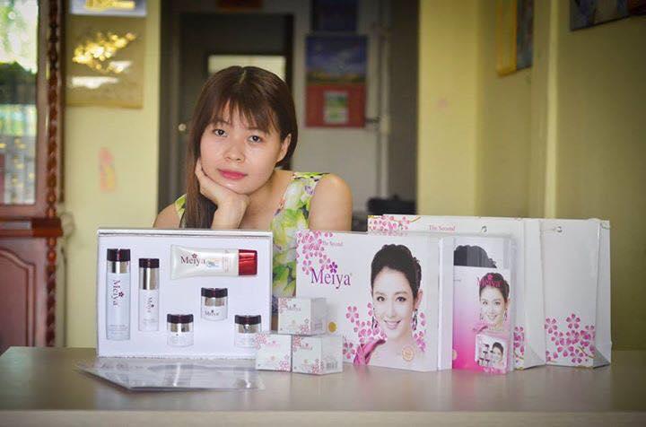 Quá dễ để dùng bộ mỹ phẩm Meiya