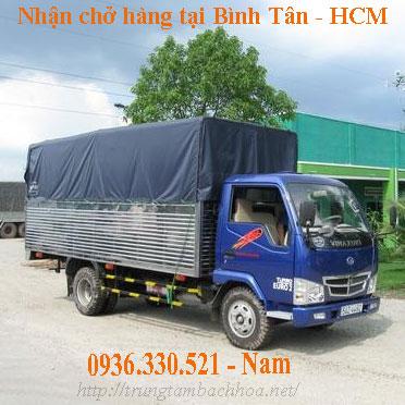 Nhận chở thuê khu vực Bình Tân, Bình Chánh Hồ Chí Minh