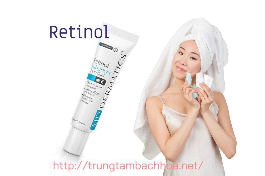 Retinol kết hợp điều trị nám của md dermatics