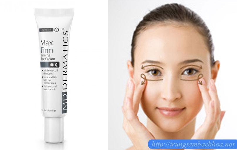 Cách massage vùng da mắt