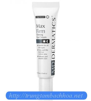 Max Firm của md dermatics dưỡng da vùng mắt
