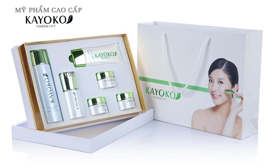 Bộ mỹ phẩm trị nám 6 sản phẩm Kayoko mới