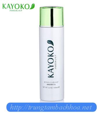 Nước hoa hồng kayoko trong bộ 6 sản phẩm